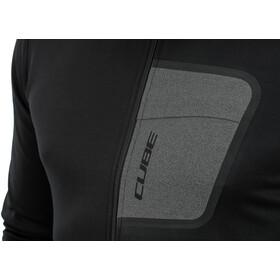Cube ATX Full Zip LS Jersey Men, negro